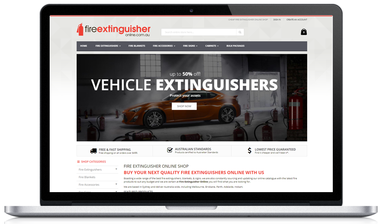 Buy fire extinguisher online